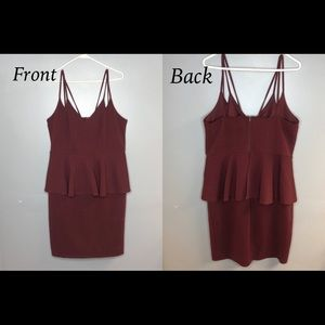 { Charlotte Russe } cocktail dress